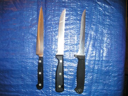 Medium kitchen knives